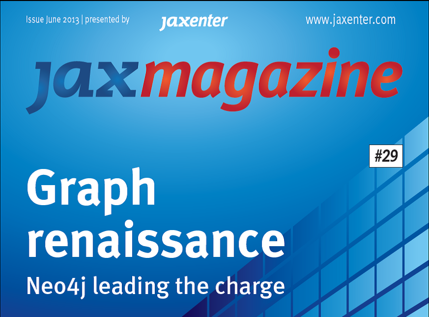 JAX Magazine June - Neo4j leading the charge for graph