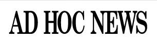 Ad Hoc News Logo