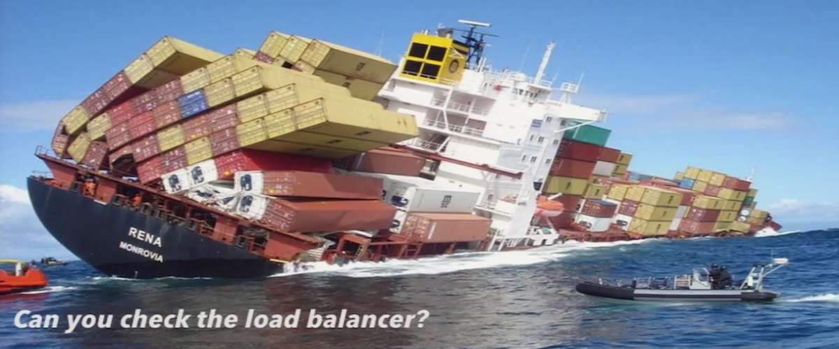 Load Balancer Problems with Microservices Container